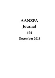 Issue cover: Journal 24 December 2015
