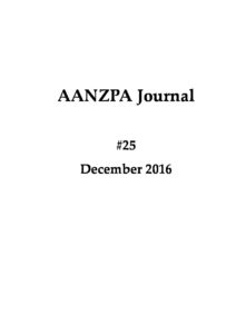 Issue cover: Journal 25 December 2016