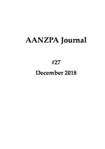 Issue cover: Journal 27 December 2018